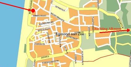 Plattegrond Vakantiewoning Egmond Aan Zee Holland Met